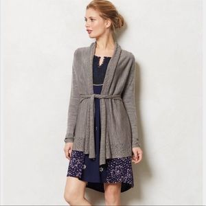 Anthro Knitted & Knotted Cosette Sweater Cardigan